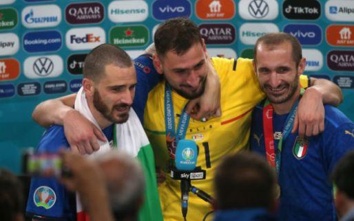 Afbeelding: UEFA onthult EK-elftal: Italië hofleverancier met kwintet, topscorers ontbreken