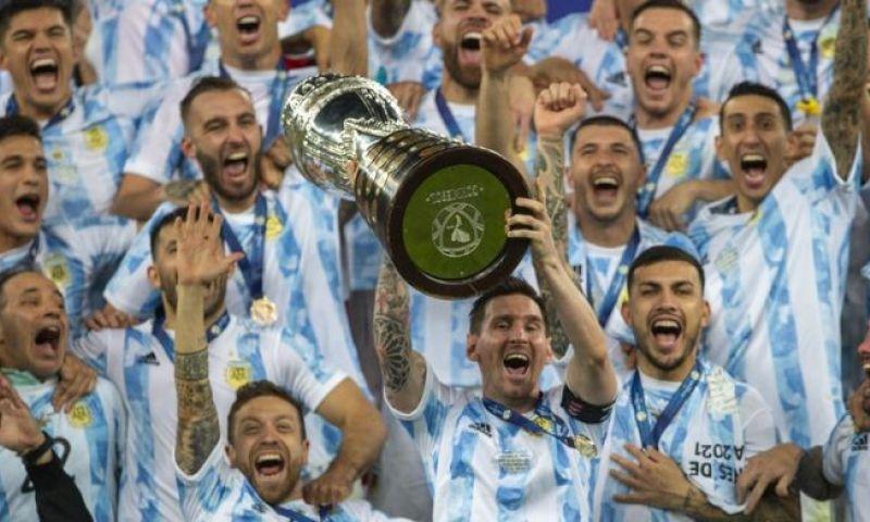 Afbeelding: Weinig Argentijnen in het Copa America-team van het toernooi