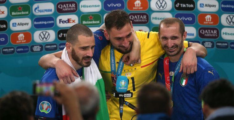 UEFA onthult EK-elftal: Italië hofleverancier met kwintet, topscorers ontbreken