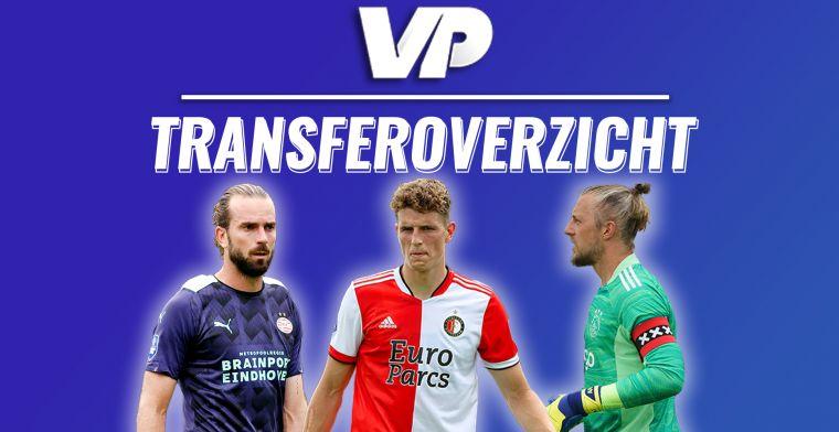 Transferoverzicht: alle inkomende en uitgaande zomertransfers in de Eredivisie