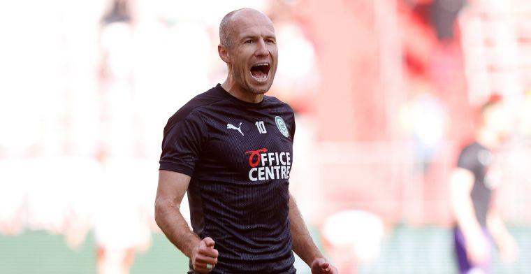 Robben geeft tekst en uitleg: 'Moeilijk, het voetbalhart wilde graag verder'
