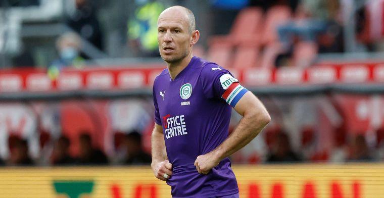 Groot nieuws uit Groningen: Robben trekt 'eerlijke conclusie' en stopt ermee