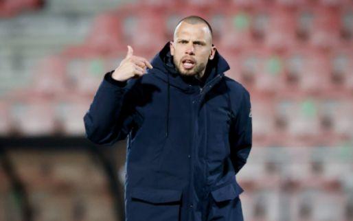 Afbeelding: Jong Ajax verliest oefenduel: 'Kunnen goed voetballen, maar komt aan op details'