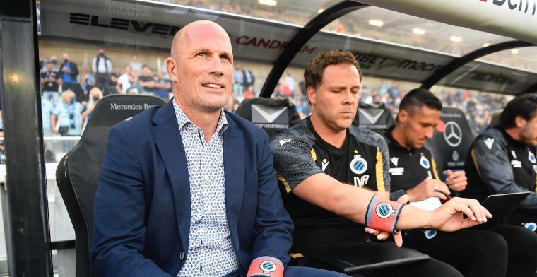 Puntendeling en nervositeit bij Club Brugge: Ik ben in de fout gegaan