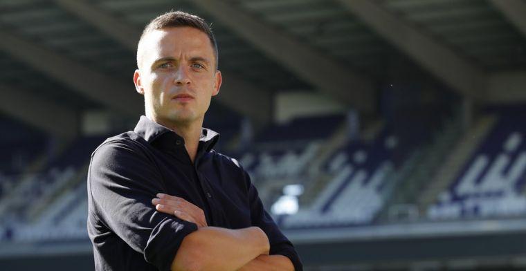 Verbeke: 'Wie informatie lekt bij Anderlecht ligt buiten, no excuses'