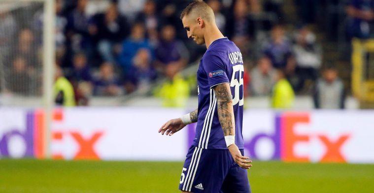 Maandag nog op de loonlijst van Anderlecht, donderdag speelt Vranjes al Europees