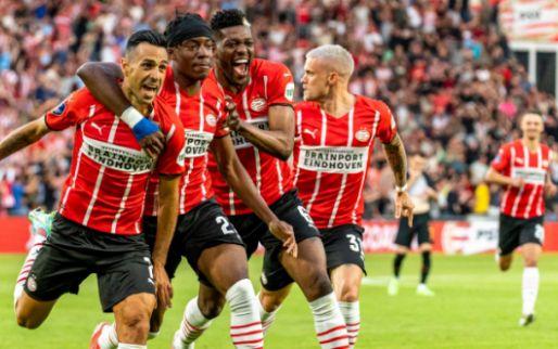 Fris PSV opent Europees seizoen met vijfklapper in kolkend Philips Stadion