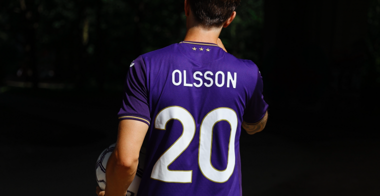 Olsson wil Zweedse lijn bij Anderlecht doortrekken: Titels winnen