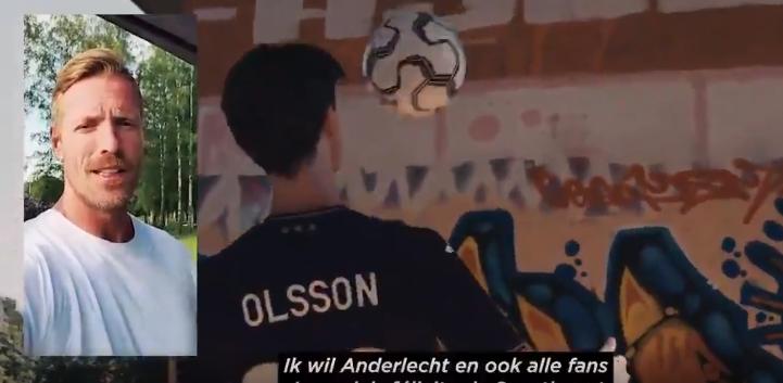 Wilhelmsson tot Anderlecht-fans: Felicitaties met prachtige transfer van Olsson