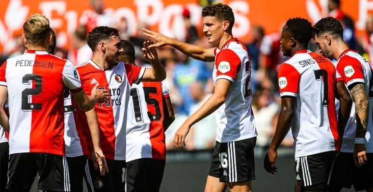Til op zijn plek bij Feyenoord: 'Dat zal me stuk minder Amsterdams maken'
