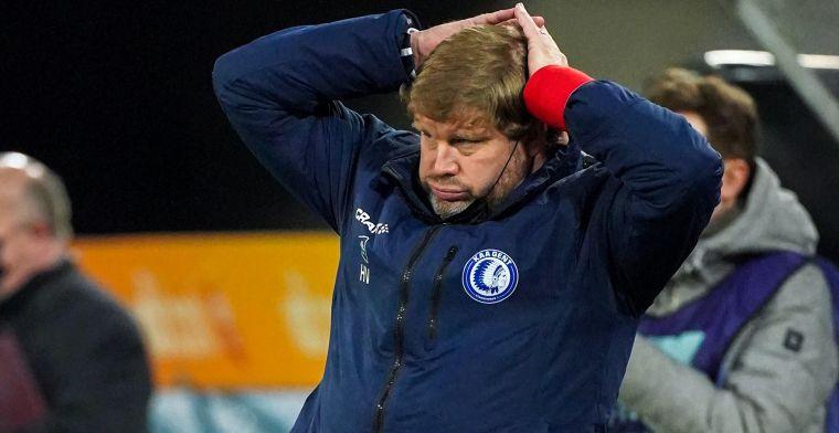 """Vanhaezebrouck wil in Europa overleven: """"Alles doen om in poulefase te geraken"""""""