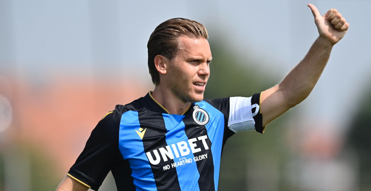Vormer staat terug op het trainingsveld bij Club Brugge, klaar voor competitie?