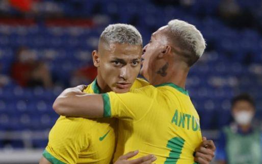 Afbeelding: Brazilië en Antony geven Olympische droom vorm met zege op Duitsland