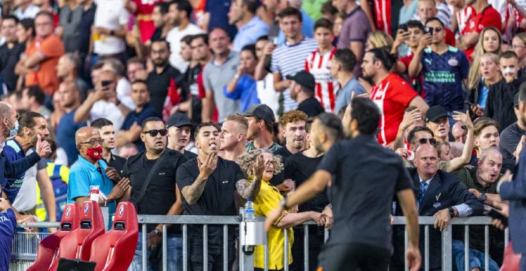 PSV gaat onderzoek doen na incident in wedstrijd tegen Galatasaray