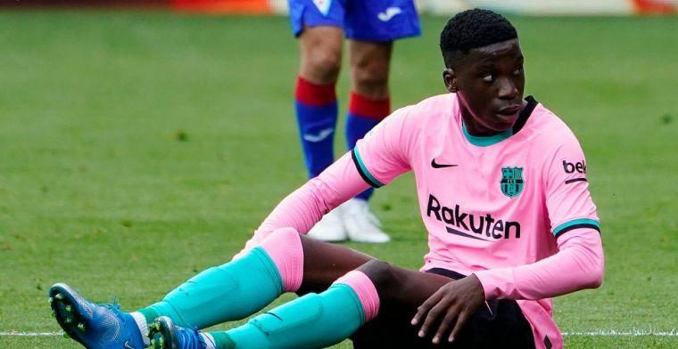 'City en Chelsea willen profiteren van contractsituatie Moriba bij Barça'