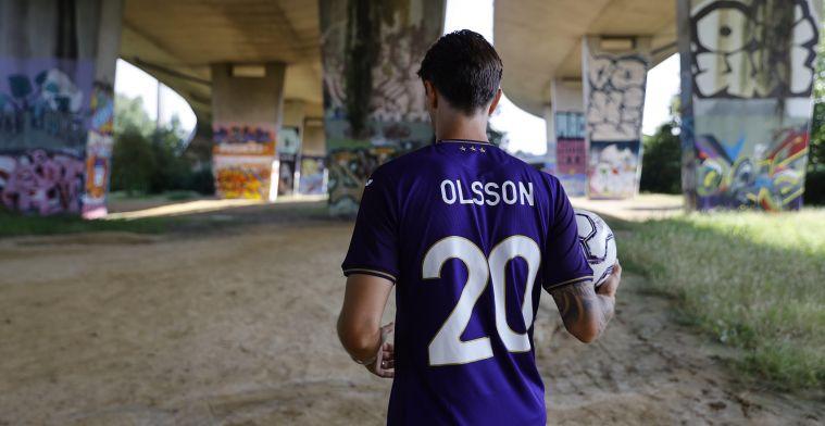 Huisanalist scout Anderlecht-nieuweling Olsson: Uitstekende visie & pass