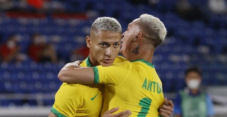 Brazilië en Antony geven Olympische droom vorm met zege op Duitsland