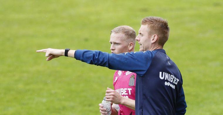 Witte rook bij Sporting Charleroi, nieuwkomer komt eindelijk aan