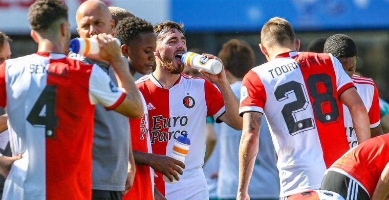 Feyenoord op rapport: vijf onvoldoendes na matige vertoning in Kosovo