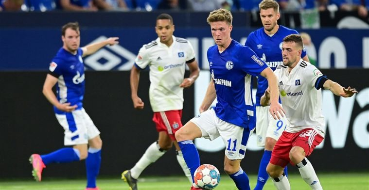 Ouwejan en Reis openen Duits voetbalseizoen: weer een sof voor Schalke