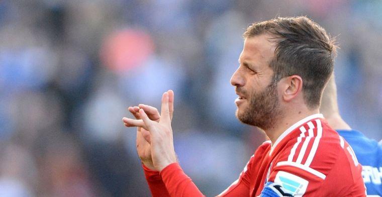 Van der Vaart ziet oude liefde HSV al aan het werk: Schande voor het voetbal