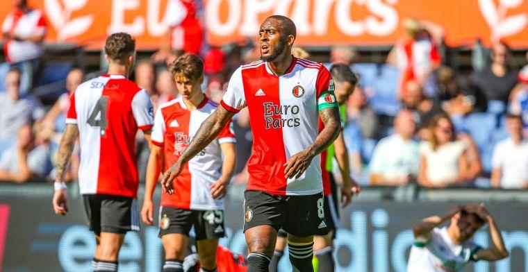 Kranten kraken Feyenoord na remise in 'derderangscompetitie': 'Pijn aan ogen'