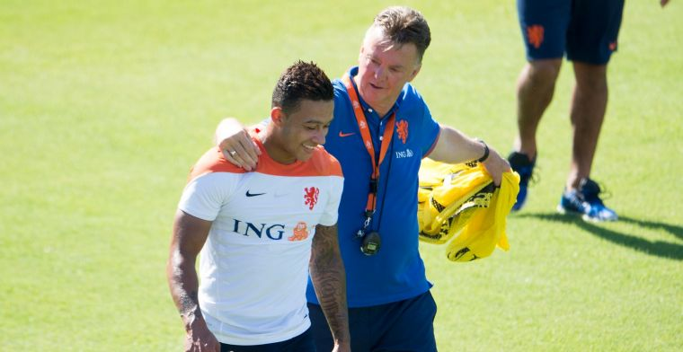 Memphis blij met naderende komst Van Gaal bij Oranje: 'Hij gaat belangrijk zijn'