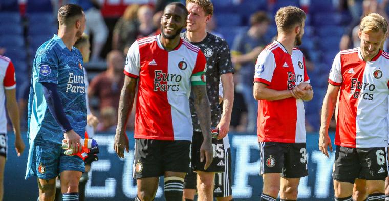 FC Drita wordt in de Kuip horendol gespeeld, dan gaat Feyenoord gewoon door