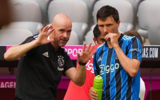 Ajax speelt in vermakelijk duel gelijk met Bayern, officieus debuut voor Berghuis