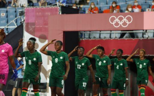 Sensatie in Olympische Oranje-poule: 4-4, wéér hattrick voor Banda (Zambia)
