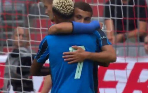 Labyad schiet Ajax op voorsprong tegen Bayern München na fout van Ulreich