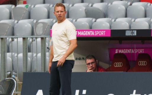 Afbeelding: Groep Bayern-fans maakt Nagelsmann uit voor 'zwijn' tijdens wedstrijd tegen Ajax