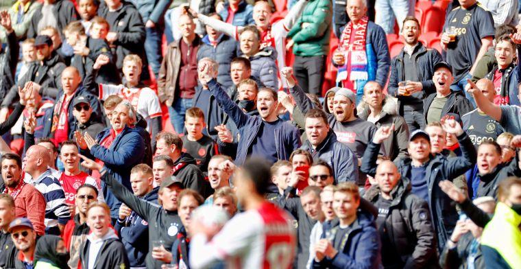 Opvallend: Ajax gaat niet 35 maar 25 duizend tickets verkopen voor duel met PSV