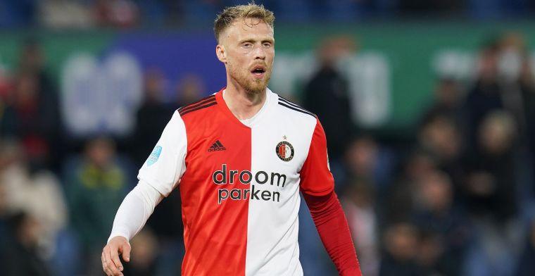 Jörgensen richt zich tot Feyenoord-supporters: 'Moesten ook leven met frustratie'