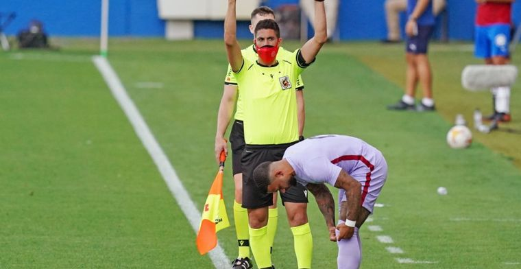 Barça boekt oefenzege op buurman: Memphis meteen trefzeker