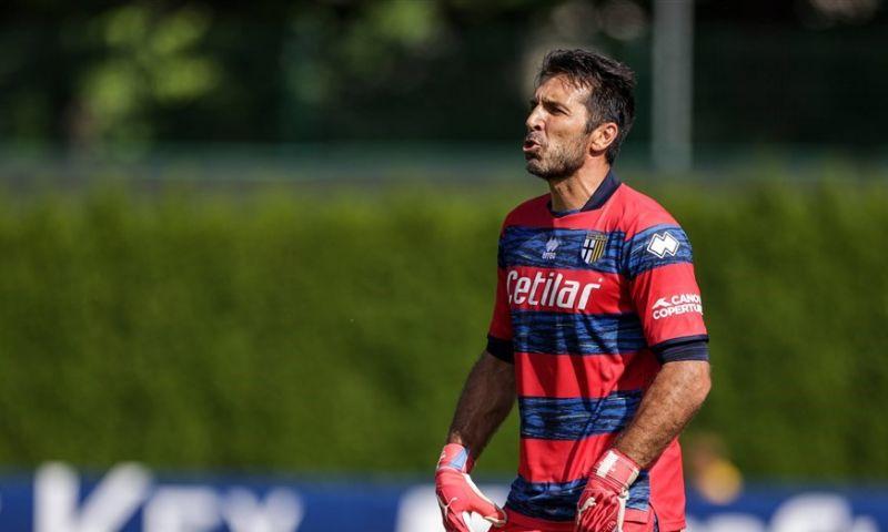 Afbeelding: Buffon solliciteert bij Mancini: 'Ik ben dan 44, maar droom nog steeds van het WK'