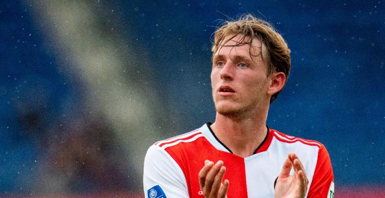 Burger (Feyenoord) ziet transfer niet doorgaan: 'Zijn er niet uitgekomen'