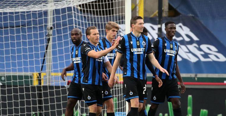 Club Brugge pakt met Vormer, Dost en Lang in absolute slotfase nog een punt
