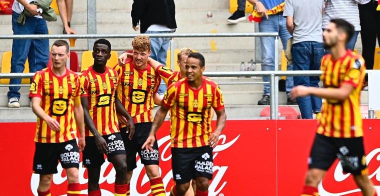 KV Mechelen wint van Royal Antwerp FC na knotsgekke wedstrijdfase