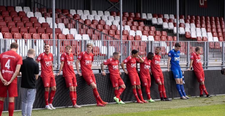 Oefenduel Almere City gaat op last van Duitse regering niet door