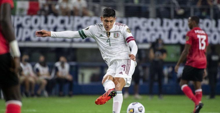 Ajax is Álvarez langer kwijt: Mexicanen stoten door naar halve finale Gold Cup