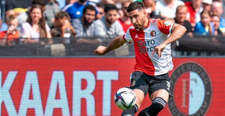 Jahanbakhsh maakt officieus debuut voor Feyenoord: 'Ik word vanzelf beter'