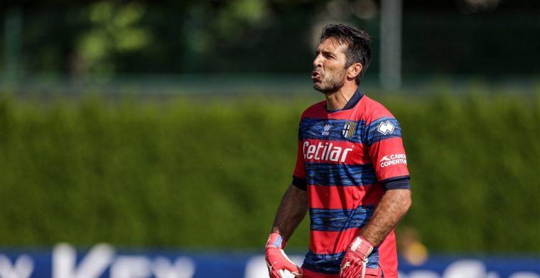 Buffon solliciteert bij Mancini: 'Ik ben dan 44, maar droom nog steeds van het WK'