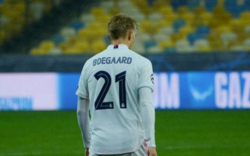 Afbeelding: Jovic en Odegaard gekielhaald na nederlaag Real: 'Word wakker, macho'