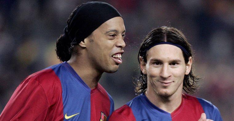 Ronaldinho deelt mening met buitenwereld: 'Hij moet bij Barcelona blijven'