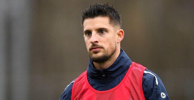 Opportuniteit? Mirallas (33) wordt gespot in tribunes bij Anderlecht