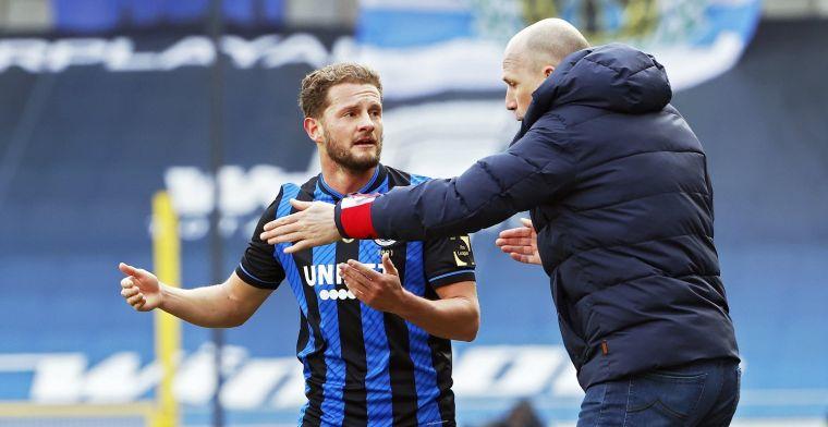 Rits (Club Brugge) geeft pluim aan ref: Moeten we hem nageven
