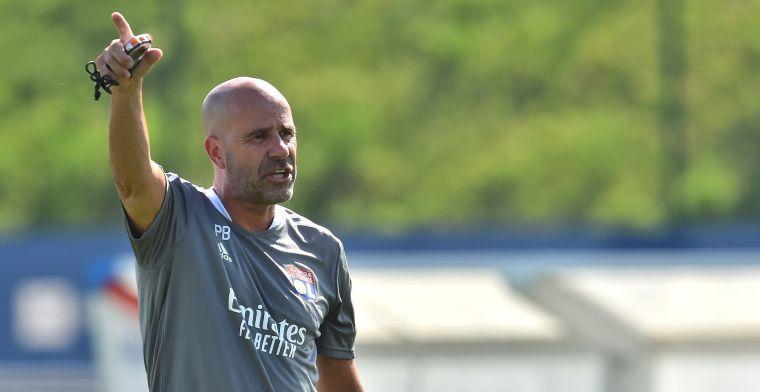 Bosz kijkt naar zichzelf bij Lyon na nederlaag: 'Ik heb dat aan spelers gevraagd'