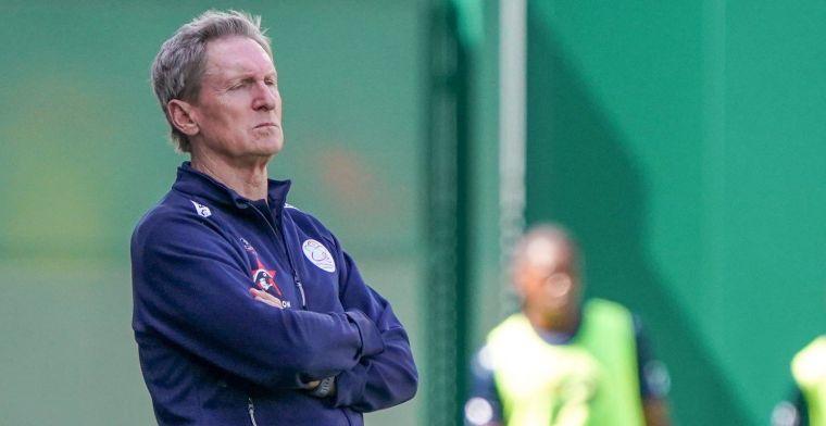 Volgens trainer Dury van Zulte Waregem was het geen penalty voor OH Leuven