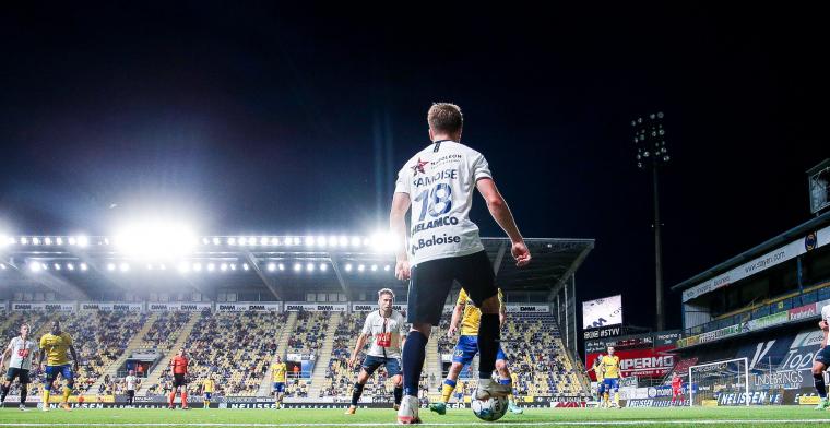 Hanche-Olsen (KAA Gent) teleurgesteld over wedstrijdfase: Dat vond ik penalty